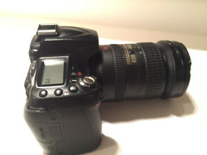 Nikon D90 With 18-200 mm Zoom Lens