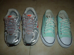 Nike Running and Xin*Ban Casual Shoes Size 37 for 11-12-y-o Girl