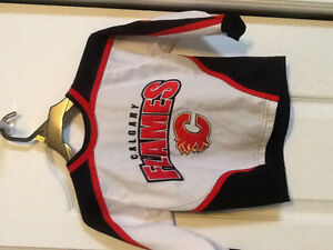 Calgary Flames jersey size 2