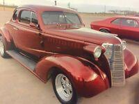 1938 Chevrolet Master Deluxe 2 Door Coupe Custom