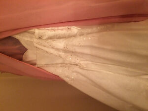 Stunning size 22 ( plus size ) wedding dress for sale !