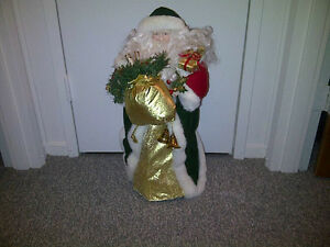 Old St. Nick Standing Figure & more