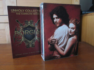 The Borgias - DVD - Complete Series - Unholy Collection - Sealed