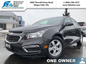 2015 Chevrolet Cruze 2LT  LEATHER,SUNROOF,HEATED SEATS,NAV,REARC