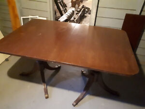 Dining room table,buffet and 5 chairs.