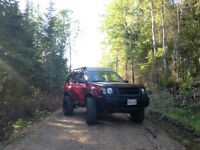 2002 Nissan Xterra lifted