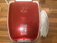 George Forman lean mean grilling machine