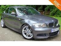 2008 57 BMW 1 SERIES 3.0 135I M SPORT 2DR