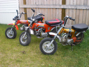 Looking for Honda Trail CT 70's