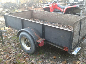 4x8 hevy duty Trailer