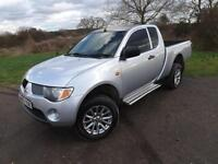 2008 MITSUBISHI L200 4x4 Club cab king cab NO VAT