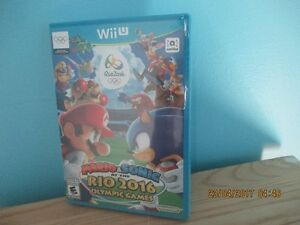 nintendo wii u Mario & Sonic at the Rio 2016 Olympic Games