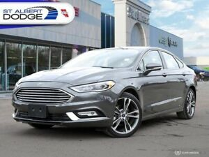 2018 Ford Fusion   HEATED/VENTED LEATHER SEATS| NAVIGATION| SUNR