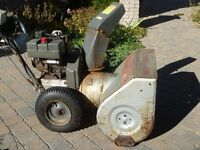 Chasse-neige (Snow blower)