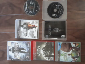 Ps3 games 10 bucks each or 40 for all 6