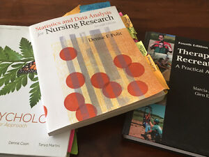 Brock text books Psych Kin nursing and RECL