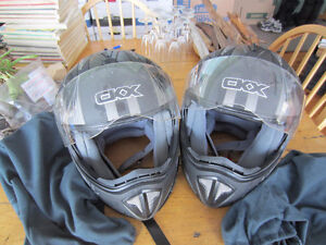 his and hers helmets