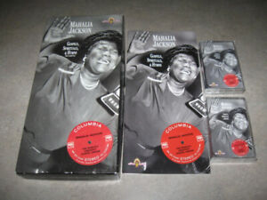 Mahalia Jackson- Gospels, Spirituals and Hymns CASSETTE box set