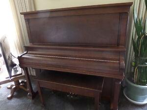 Heintzman Upright Grand Piano