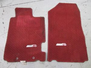 JDM Acura RSX DC5 Type R Red Floor Mats 2002-2006