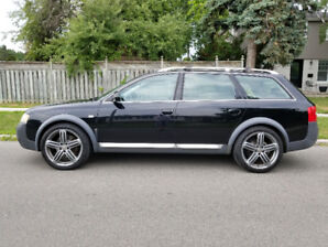 2004 Audi Allroad - 2.7L AWD Black Wagon