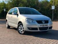 2006 VOLKSWAGEN POLO 1.4 S AUTOMATIC PETROL 5 DOOR HATCHBACK
