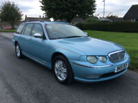 2001 ROVER 75 2.0 CDT CONNOISSEUR TOURING, AUTO ** SOLD **