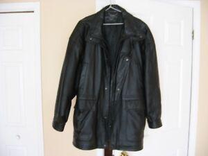 manteau homme cuir véritable Y
