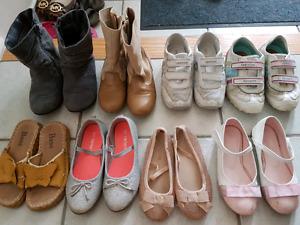 Girl shoe set