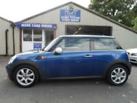 2008 58 MINI HATCH ONE 1.4 ONE 3D 94 BHP PANORAMIC SUN ROOF ALLOYS