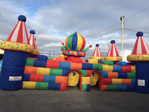 Jeux gonflables HIVER; inflatable games