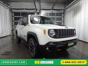 2015 Jeep Renegade TRAILHAWK 4WD NAVI SIEGES CHAUFFANTS BLUETOOT