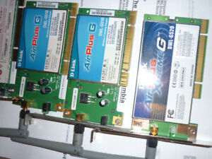 DLINK BELKIN PCI WIRELESS NETWORK CARDS