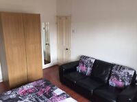 Massive and bright double bedroom zone 2 with sofa and fridge