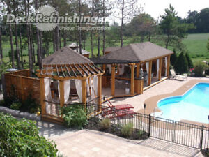 Outdoor Living Space Build Refinish Composite Deck Resurface