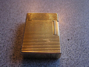 ST Dupont Lighter Line 1  Limited Edition Rare Made  France Gold