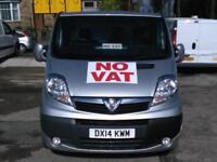 2014 VAUXHALL VIVARO VAN LWB SPORTIVE 2.0CDTI [115PS] 2.9t Euro 5 Diesel