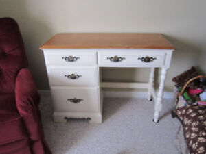 Charming small desk for sale.