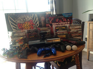 PS3 and 60+ games and accessories Best Offer