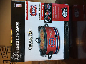 Montreal Canadiens Travel Crockpot
