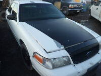 2005 crown victoria p71 parting out