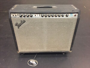 REDUCED Fender Twin Reverb 1981 Silverface