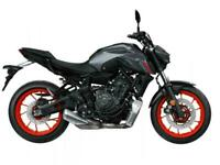 Yamaha MT 07 2021 Model