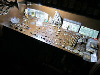 Huge Estate Sale Gold & Silver Ring Necklace Bracelet Coins