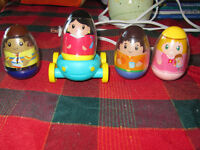 Weebles and Vehicle
