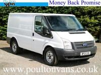 2012 (12) FORD TRANSIT T330 A.W.D 4WD SWB LOW ROOF PANEL VAN, 125PS, Medium