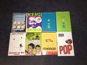 Jerry Spinelli and Gordon Korman Book Set