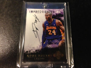 Kobe Bryant Court Kings On Card Auto