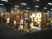 Store Fixtures and trade show freestanding slatwall plus more