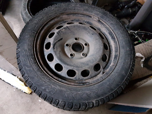Pirelli winter tires on rims 205 55 16